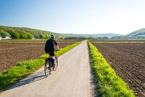 Fahrrad Feldweg Frhling Freiheit
