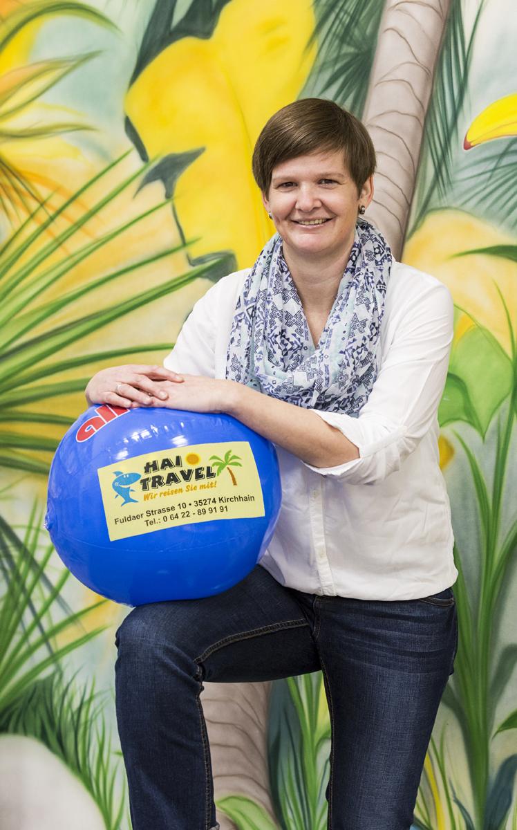 Marina Rhiel (AIDA- Kreuzfahrt- Expertin)